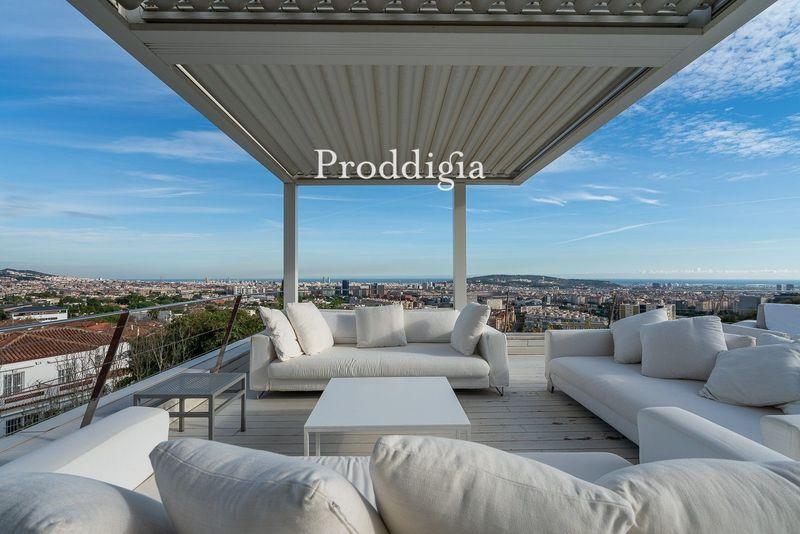 VISITA VIRTUAL. Casa de lujo en Pedralbes con vistas a Barcelona