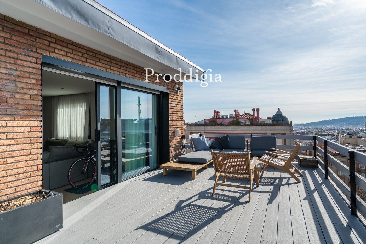 Espectacular ático con terraza en Galvany