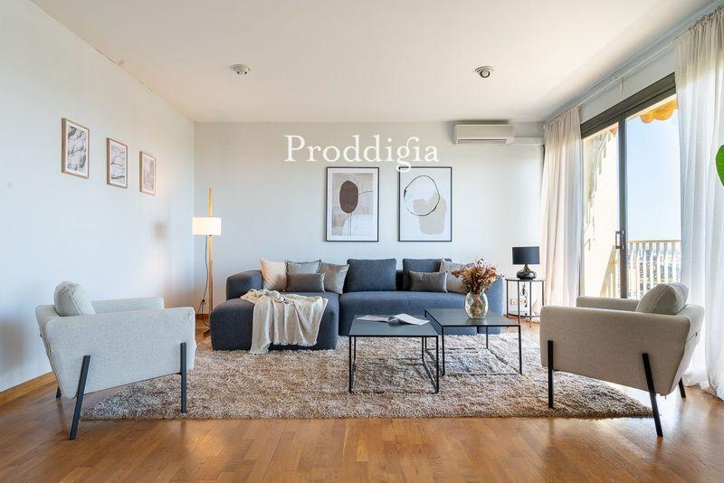 VISITA VIRTUAL. Exclusivo 10º piso de 206m² y 20m² de terraza  en Pedralbes