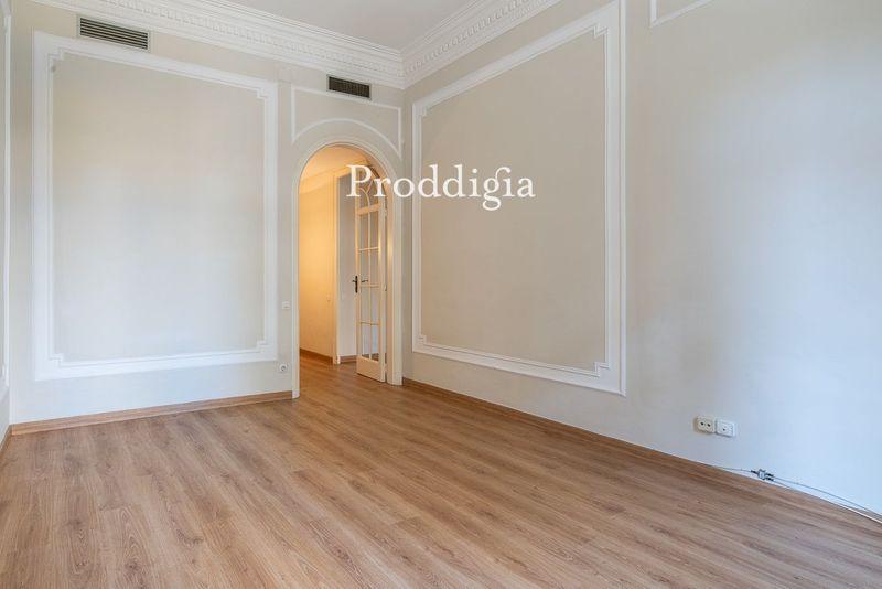 Fabuloso piso señorial en la calle Balmes