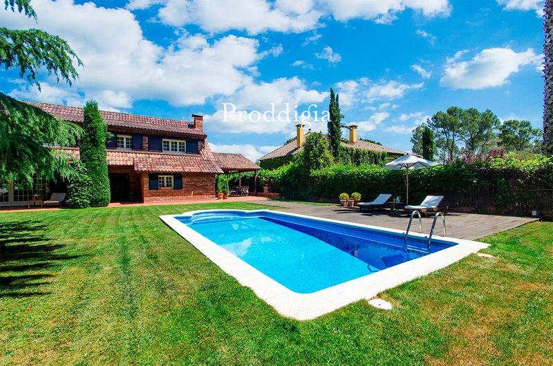 Casa con piscina en Valldoreix
