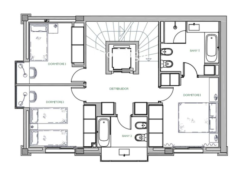 Increíble casa en exclusiva urbanización con jardín y piscina privada