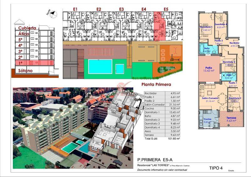 Piso en venta  en Cuenca . Ref: 105680. Inmobiliaria Vieco