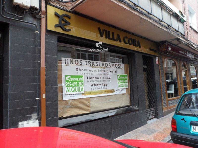 Local Comercial en alquiler  en Cuenca . Ref: 2418. Gomez Utiel Servicios Inmobiliatios Cuenca