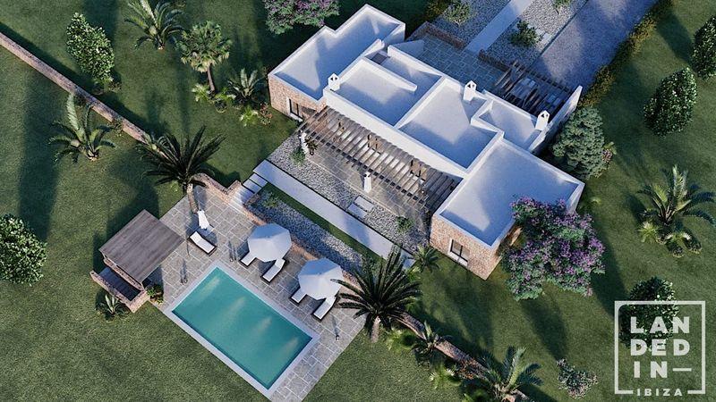 Casa en venta  en Santa Eularia des Riu, Baleares . Ref: 1654. LANDED IN IBIZA REAL ESTATE