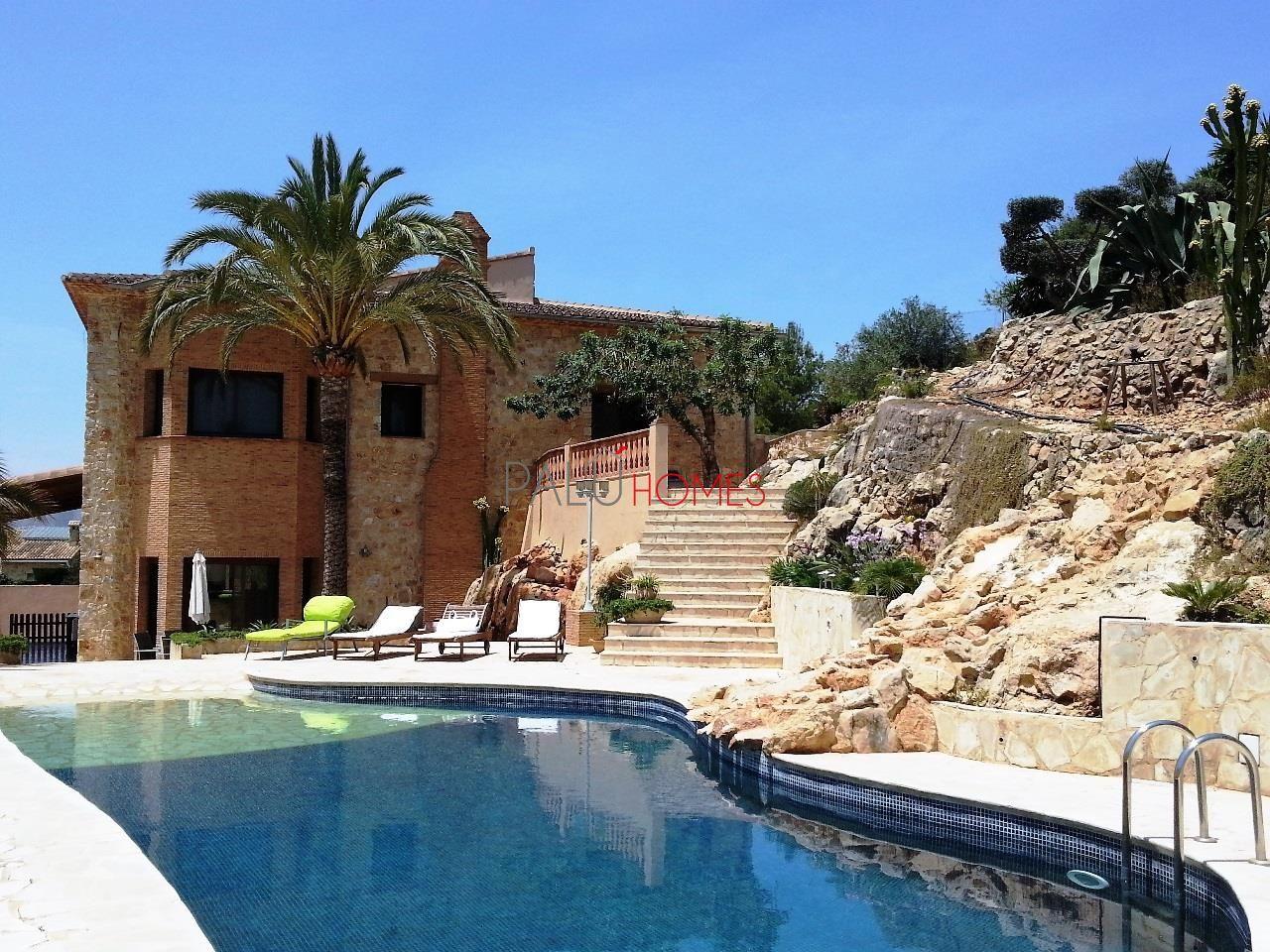 Villa de lujo en Pedreguer