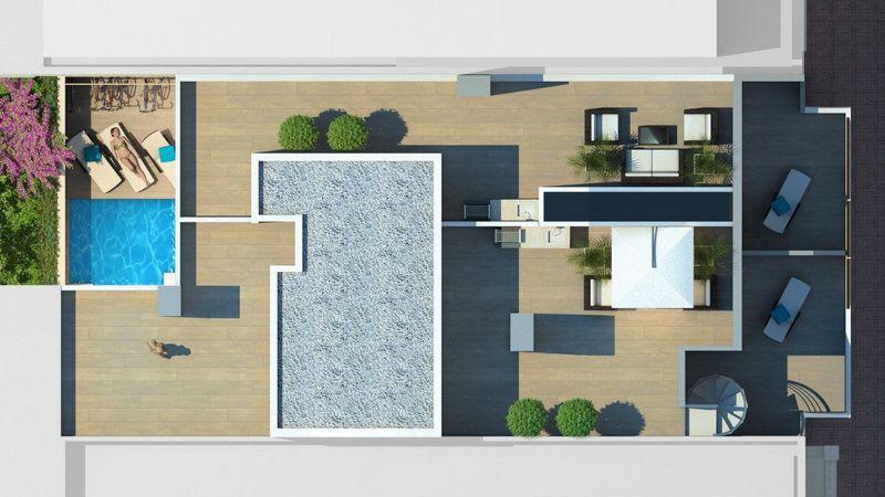Ático en venta  en Torrevieja, Alicante . Ref: 7629. Mayrasa Properties Costa Blanca